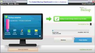 GoFlex - Instant Backup - How to Create an Encrypted Backup Plan