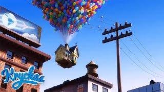 Yukarı Bak  Carl Evi Cennet Şelalesine Uçuruyor  HD