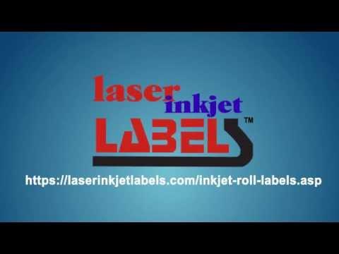 Inkjet Roll Labels