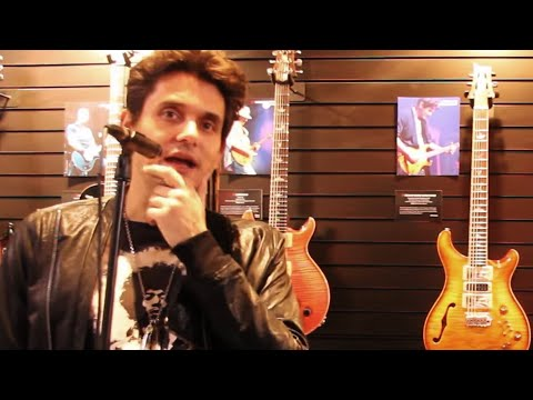 NAMM 2017   Casually Chatting With John Mayer