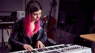 Tori Letzler x Yamaha MONTAGE6 White | Artist Profile | The Synthesist