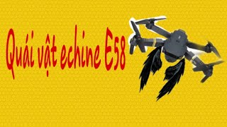Nghịch flycam giá rẽ EACHINE E58  Review flycam EACHINE E58