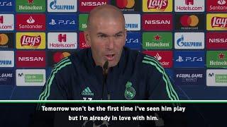 I'm already in love with Mbappe - Zinedine Zidane