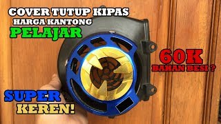REVIEW COVER TUTUP KIPAS 2TONE BLUE GOLD