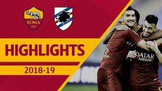 EL SHAARAWY: WHAT A GOAL! Roma 4-1 Sampdoria, Serie A Highlights 2018-19