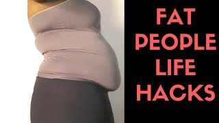 Video Fat Ladies life hacks | How to hide the big belly and more! download MP3, 3GP, MP4, WEBM, AVI, FLV Agustus 2018
