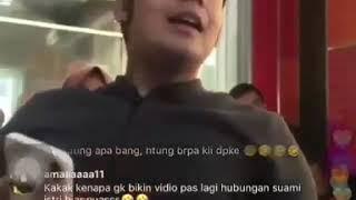 Viral Video Kriss Hatta Singgung Billy Melalui Live instagram