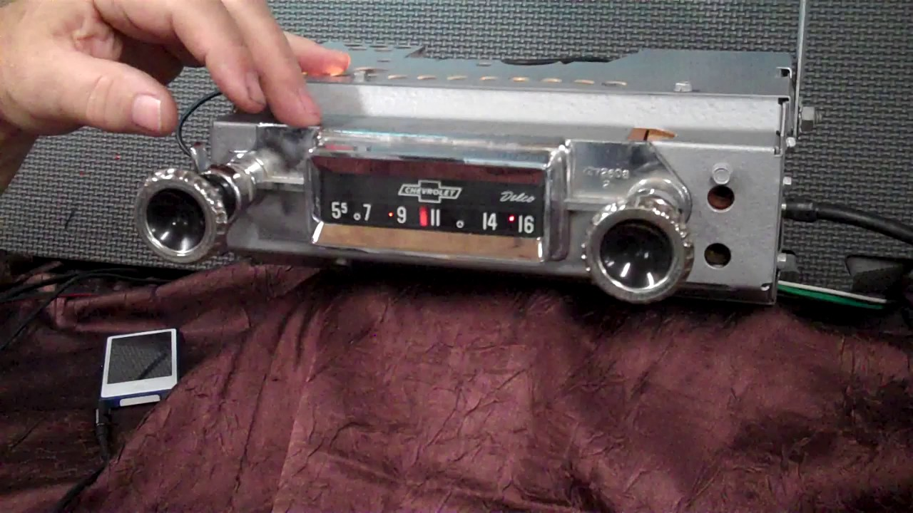 1960 63 chevy c10 truck original am radio