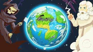 ВОЙНА ДВУХ МИРОВ, СИМУЛЯТОР БОГА!   WorldBox