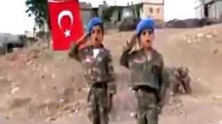Küçük Mehmetçiklerin Vatan Sevdası