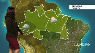 Previsão Norte – Pancadas de chuva
