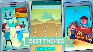 Best Miui 8 New Themes [ Hindi - हिन्दी ]