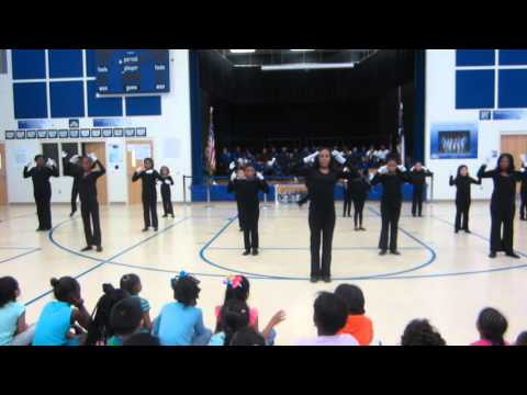 Charlton-Pollard Elementary School- Praise Dance Team I believe I can fly praise dance