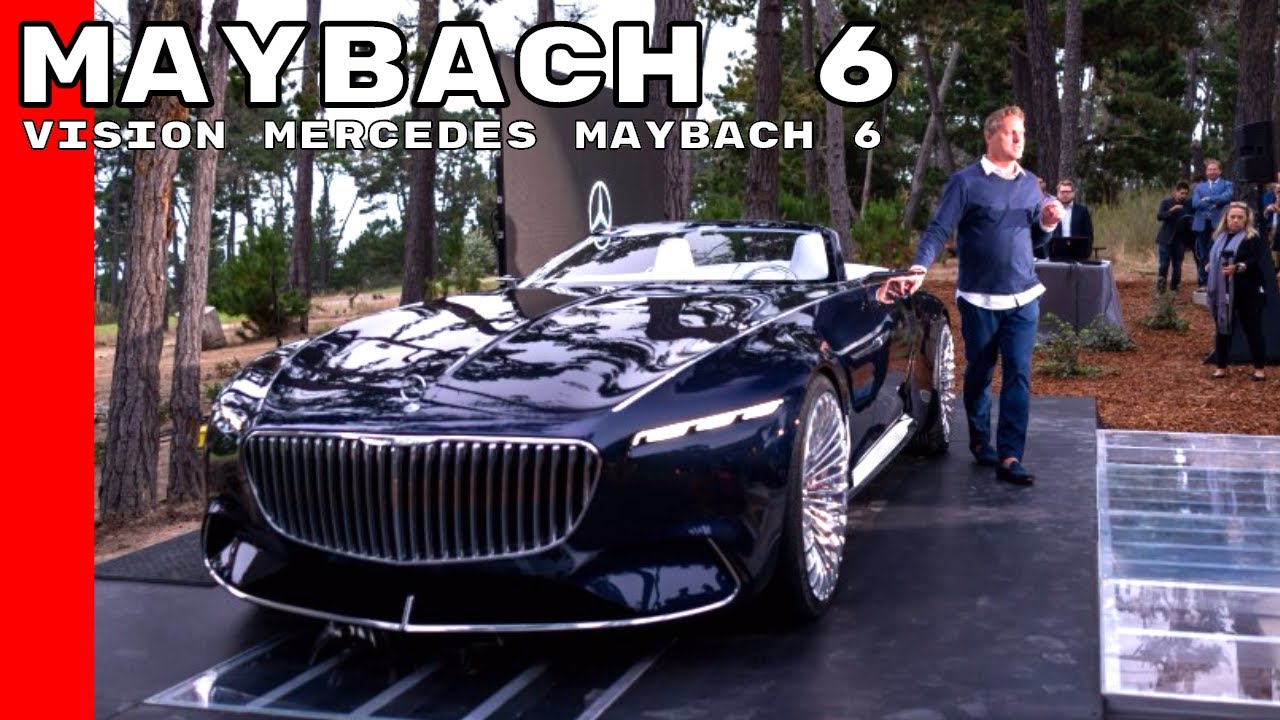 Vision Mercedes Maybach 6 Cabriolet - YouTube
