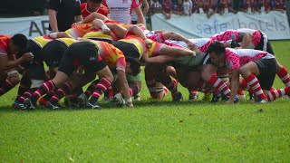 2015 Asian Rugby Championship Division 3 East Tournament: Indonesia vs China Match Highlights