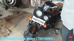 Chhattrapati Custom Motorcycles Pune ( Modify Your Old Scrap Into Sports Look at Reasonable Price )