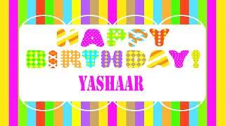Yashaar   Wishes & Mensajes - Happy Birthday