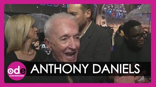 """STAR WARS: Anthony Daniels - """"No one used to care!"""""""