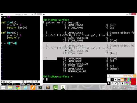 CPython internals - Frames, function calls, and scope - Lecture 3