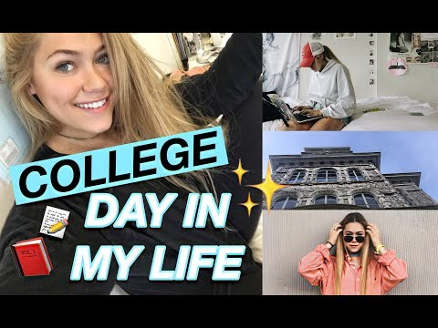 DAY IN MY LIFE AT COLLEGE! | ft. Margot Lee