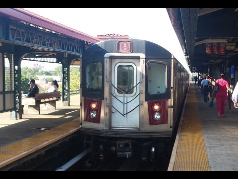 On Board R142 (5) Express Train From 149th Street-Grand Concourse to Gun Hill Road
