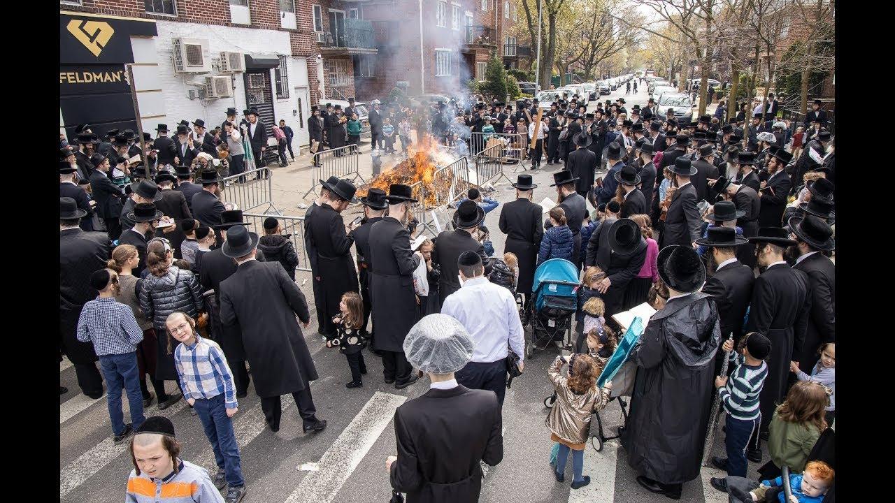 Rabbi Mordechai Jungreis, Nikolsburg Rebbe, Sreifas Chametz, Erev Pesach 2019