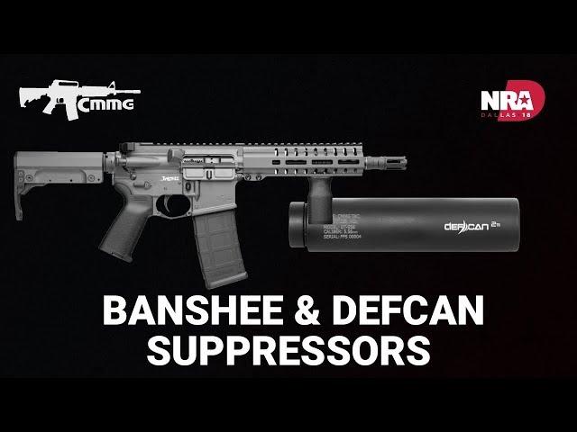 Banshee & Defcan Suppressors - CMMG