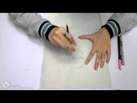 Tutorials : วิธีวาดรูปการ์ตูนเบื้องต้น 1/2