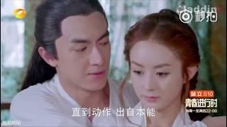 Tổng hợp những cảnh lãng mạn của Vũ Văn Nguyệt- Tinh Nhi [ Sở Kiều truyện]