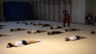 Часть 4.  Открытый урок по гимнастике 01 ноября 2015