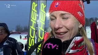 Nasťa Kuzminová - majsterka sveta Biatlon MS 2019