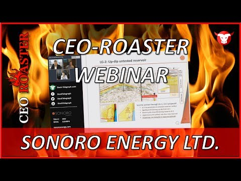 Sonoro Energy Ltd.: CEO-Roaster Webinar mit Richard Wadsworth (TSX-V: SNV)