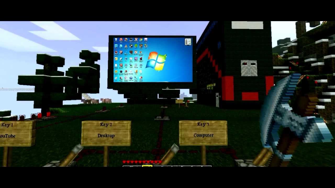 Working Computer On Minecraft Running Windows 7 64 Bit Not Real