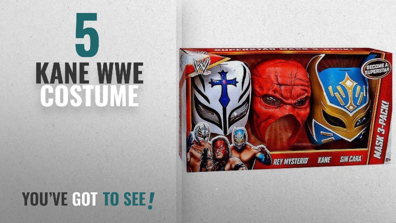 Top 10 Kane Wwe Costume 2018 Wwe Wrestling Costumes Rey Mysterio