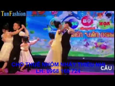 Nhóm nhảy tango thiều nhi cực hay dễ thương LH: 0968 168 724