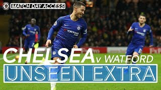 TUNNEL ACCESS: #Hazard's 100th and 101st Chelsea Goals Grab The Win | Unseen Extra