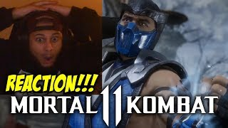 WARNING!!! ULTIMATE HYPE!!! | Mortal Kombat 11: FIRST GAMEPLAY TRAILER! REACTION!!!