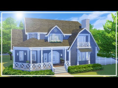 CAPE COD MANSION // The Sims 4: Speed Build