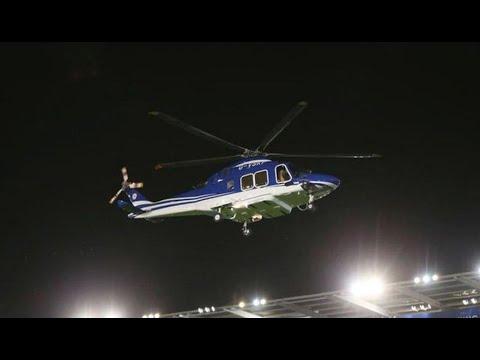Video inédito del accidente en el que murió el dueño del Leicester City