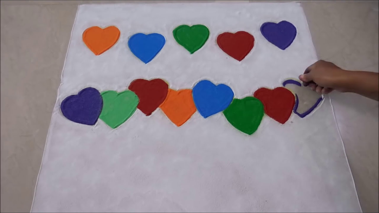 Happy New Year Rangoli 74