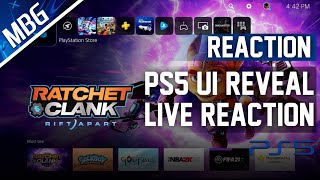 PS5 UI REVEALED, LIVE REACTION, NEW PS5 FEATURES, CONTROL CENTER, ACTIVITIES, SCREEN SHARE AND MORE