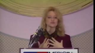 Young Kellyanne Conway powerful speech on school choice (1993)