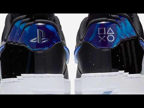 The Sony PlayStation x Nike Air Force 1 Low YouTube