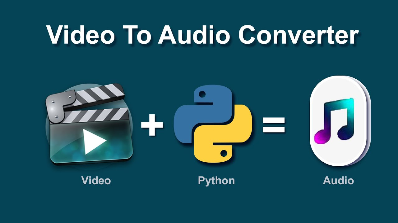 Video to audio converter using Python | Extract Audio from video || moviepy