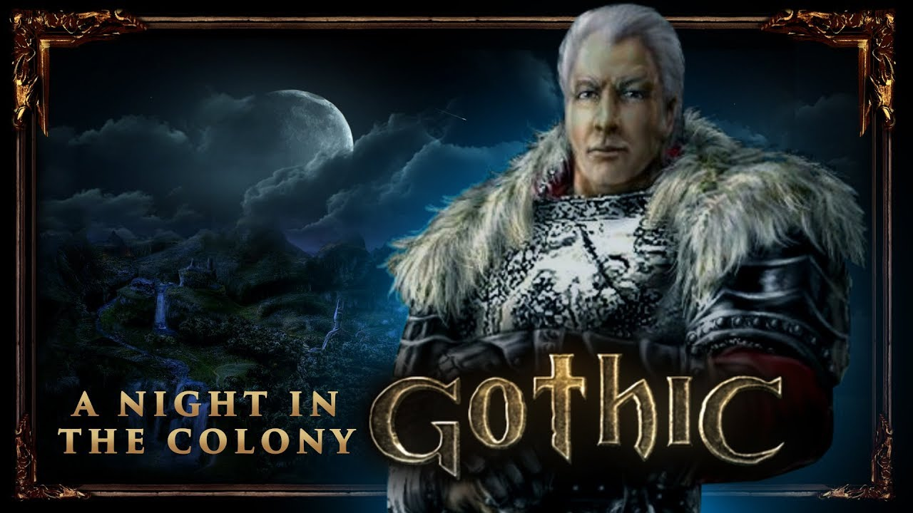 A night in the Colony   Gothic 1   Music + Ambience Mix