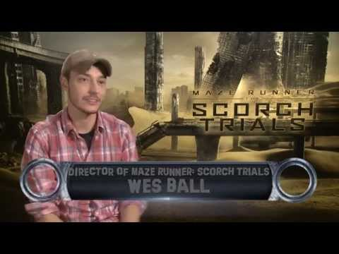 Maze Runner: The Scorch Trials director Wes Ball  Exclusive