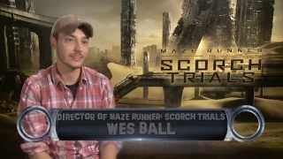 Maze Runner: The Scorch Trials director Wes Ball - Exclusive Interview