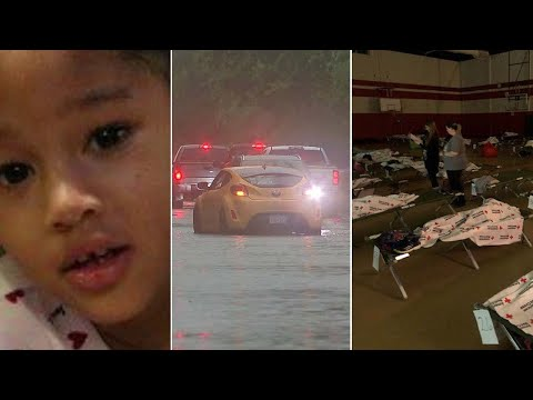Houston Weather, Maleah Davis search suspended, rapper rescues people in flood: The 60