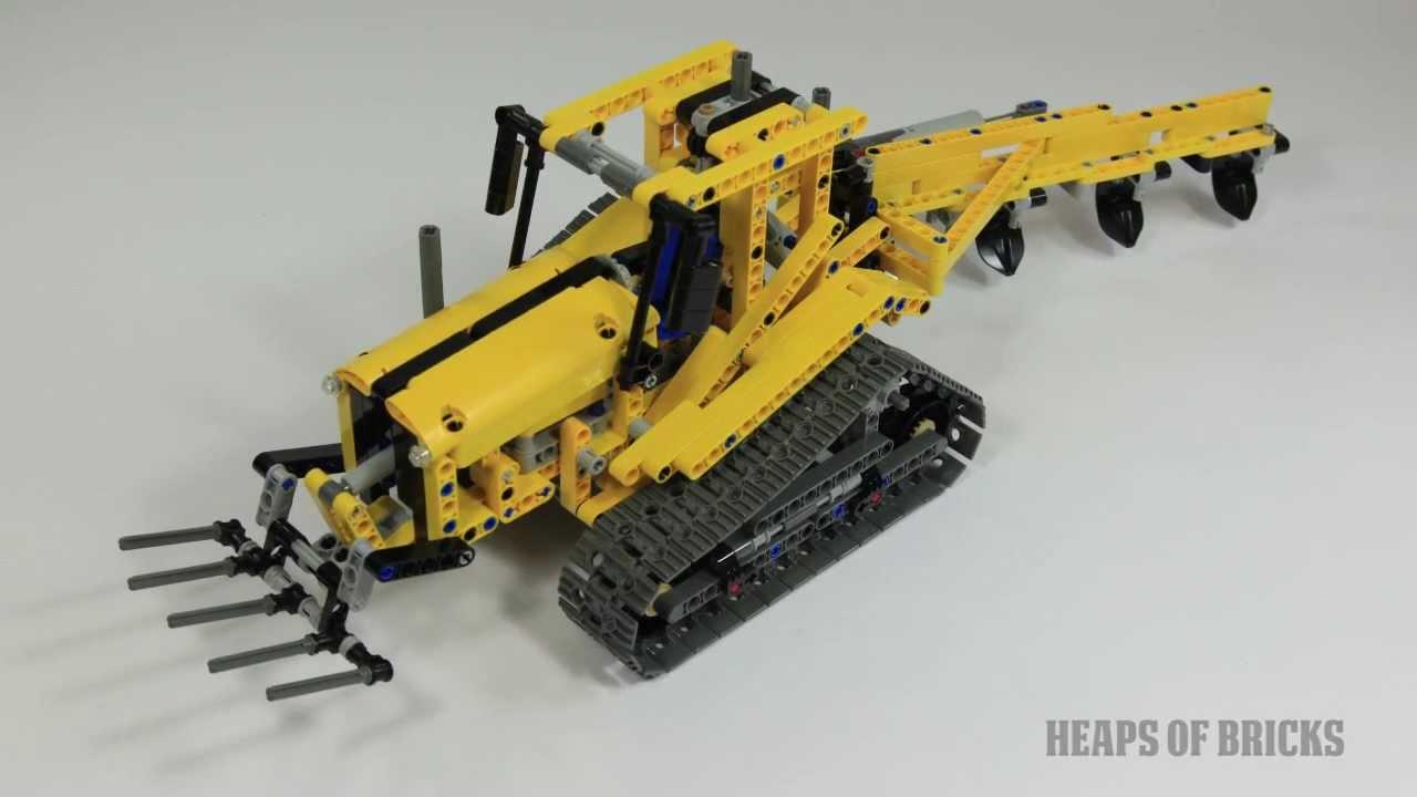 TechLug.fr - Review Lego Technic #42006 Pince sur chenilles