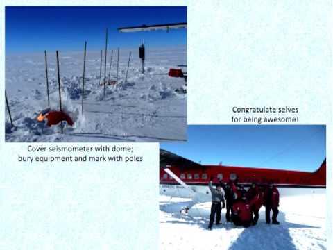 Dr. Samantha Hansen on Tectonics of the Transantarctic Mountains